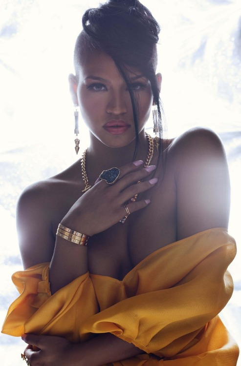 Cassie Ventura, photographed by Anja Poulsen for BWATT Magazine.