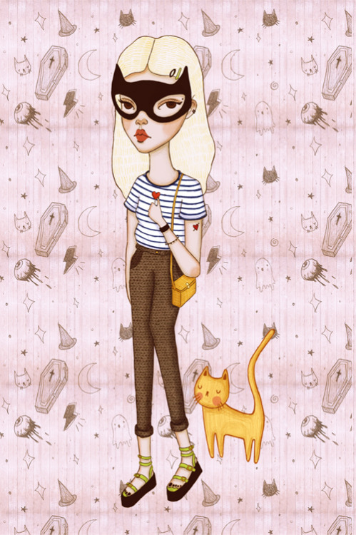 Bat Girl On The Weekends (by a1000daisies)