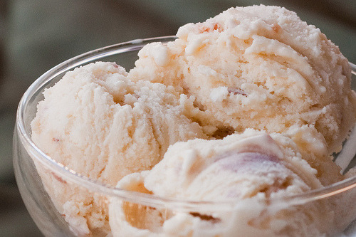 Maple bacon ice cream.