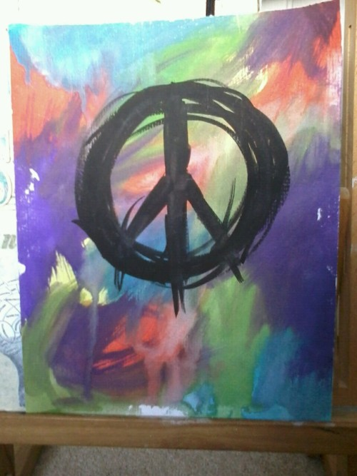 Peace x Watercolours