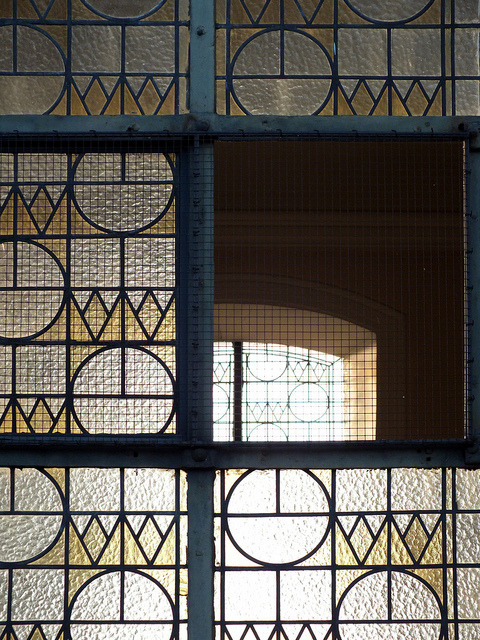 Grid Pattern - Church Window by Horst Kiechle on Flickr.