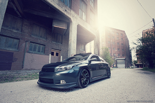 Jacob's Scion TC by Matt Hans on Flickr.