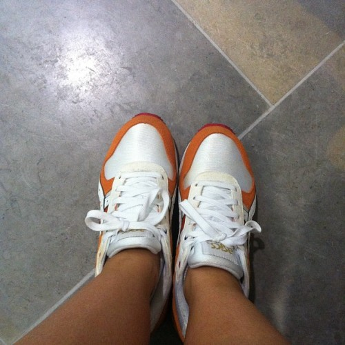 Today #netherlands #asics #london2012 #olympics #bigeyeslittlesoles #chicksinkicks #teamfp #chickswithkicks #igsneakercommunity #ldn #wiwt #wdywt #sneakers #trainers #ggk #thedropdate @sneakerweather @sneakherbox @footpatrol_london  (Taken with Instagram)