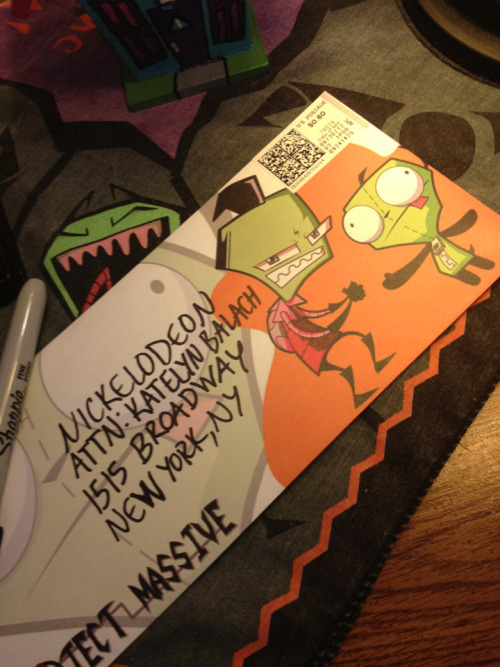 Sending my letter right now! Write to Nickelodeon for new eps of Invader ZIM!