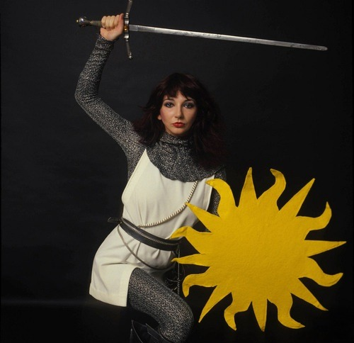 Kate Bush preparing to spill the blood of those responsible for not devoting 8 hours of the Closing Ceremony schedule to a live performance of her entire discography.