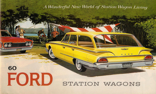 '60 Ford Station Wagons by Hugo90 on Flickr.1960 Ford Station Wagons