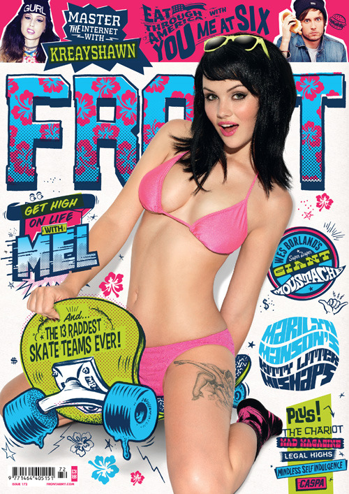 FRONT Magazine Issue 172 is out today! Sneak peek inside here.