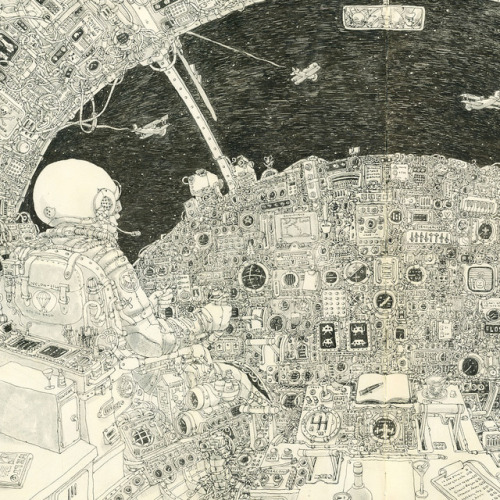 psychotic-art:   Swedish artist Mattias Adolfsson