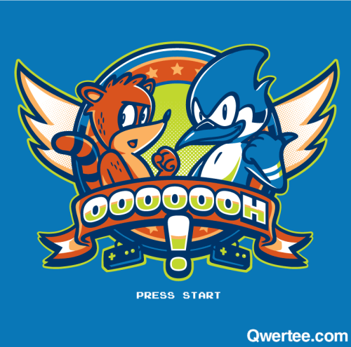 "qwertee:  Just 12 hours remain to get our Last Chance Tee ""OOOOOOH!"" on www.Qwertee.com/last-chance Get this great design now for £10/€12/$14 before it's GONE FOREVER! Be sure to ""Like"" this for 1 chance at a FREE TEE this weekend, ""Reblog"" it for 2 chances and ""Follow"" us for a 3rd chance (if you're not following us already:) Thanks as always!"""