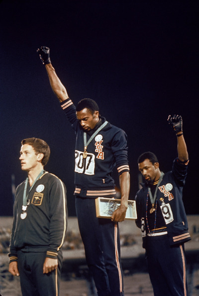 (via Iconic Olympic Moments: The black power salute - Swide Magazine)