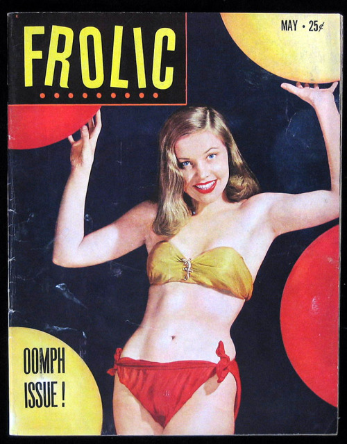 theniftyfifties:  Frolic magazine #1, May 1951.