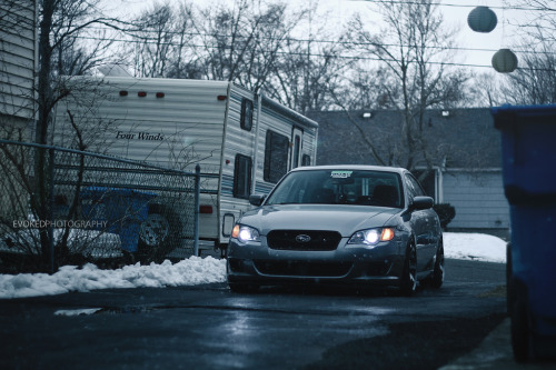 Hard life Starring: Subaru Legacy (by Evoked Photography)