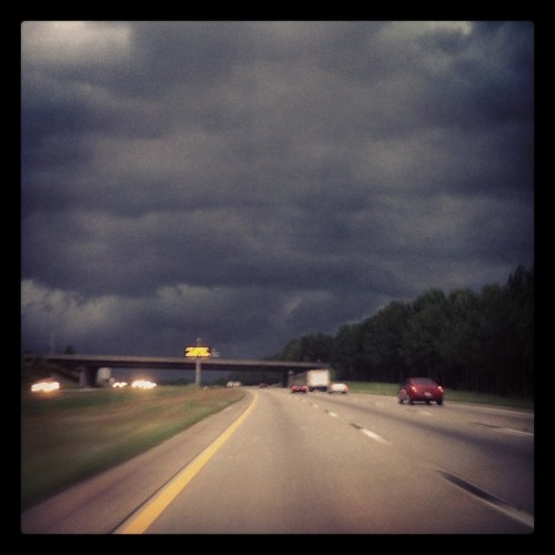 Storming in Raliegh (Taken with Instagram)