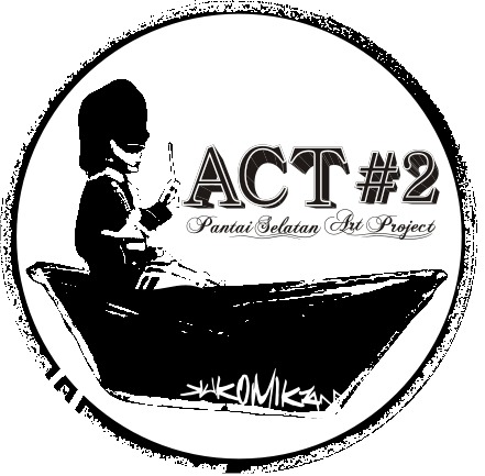ACT # 2 (SOUTH GUNUNGKIDUL SEAS ART PROJECT).  We will present the work of public art (public artworks). kukomikan along with a  communities and artists will be invited to respond to public spaces beach. they will display their artwork in an open space (outdoor) and linking them visually and physically with the environment and the southern sea coast. Besides this festival is packed in a tent with the involvement of community arts, community and stakeholders who are concerned about the preservation of the beach.  FORM OF ACTIVITY  Creative and innovative presentation of the concept artwork tailored to beach sites and interaction with the sea and the natural environment, the southern sea.  Variety WORKS  - Works of art two-and three-dimensional (Grafity street art murals, sculptures, art objects) for open space / outdoor.  - Installation art - artistic on site or public space strategically (sign art, stickers, posters) are not glued to the beach  _ Live music performances - (performance art)  Place and time:  Just at the time of opening of the strategic places in the south coast. (The choice of location by the artist with the same). for implementation in four stages from the beginning of the month beginning August 2012 - September 2012  1. The first month of the survey and data collection include artists  2. manufacture of public works (art work)  3. public execution (art work)  4. festivals and fairs  PARTICIPANTS  Artists are invited to include a category:  - Individual artists  - Community groups http://kukomikkan.blogspot.com/search/label/ACT  Contact: kukomikan@live.com.