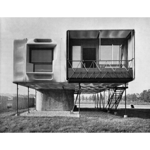 DIETER SCHMID  PLASTIC HOUSE / KUNSTSTOFFHAUS IN BIBERACH, 1963… 20 years before this was built