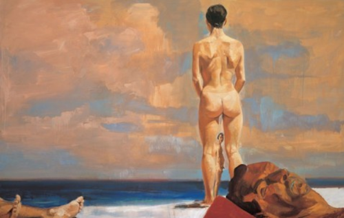 Fischl in The Hamptons If you're in the Hamptons over the weekend, don't miss this:  Guild Hall is opening their exhibition, Eric Fischl: Beach Life, on Saturday, August 11, 2012! The show features a wide selection of paintings that span Fischl's 30 year artistic career. Find out more about Eric Fischl.