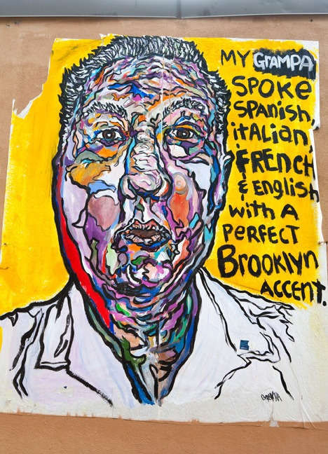 brooklyntheory:  My Grandpa Spoke Spanish, Italian, French & English With A Perfect Brooklyn Accent. - Fumero, Williamsburg