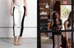 fashionofpll:  Thanks troiann!  Rag and Bone - Split skinny B/W - $198.00