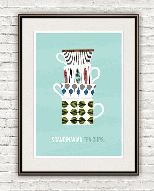Scandinavian prints poster print by h4ndz on Flickr.