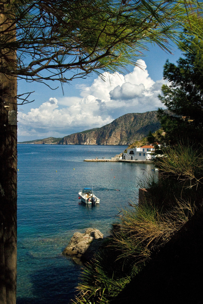 Assos, Kefalonia, Greece (by Rodger E Clark)