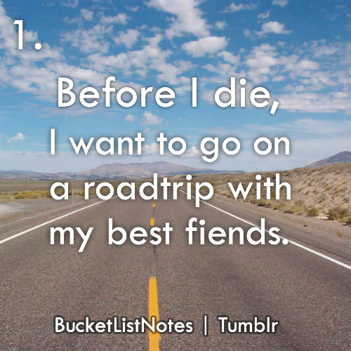 bucketlistnotes:  Follow me for bucket list inspiration!