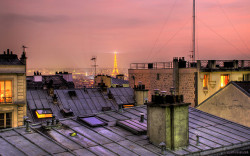 travelingcolors:  The Rooftops Of Paris | France (by S. J. Pettersson)