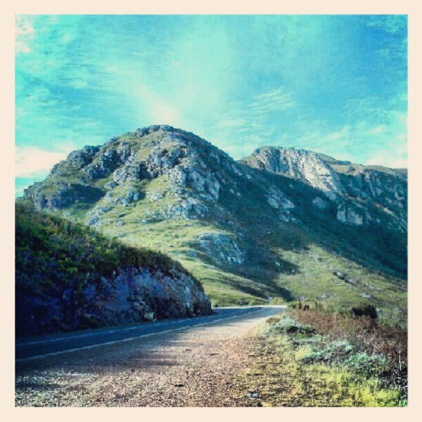 Up the Robertson pass (Taken with Instagram)