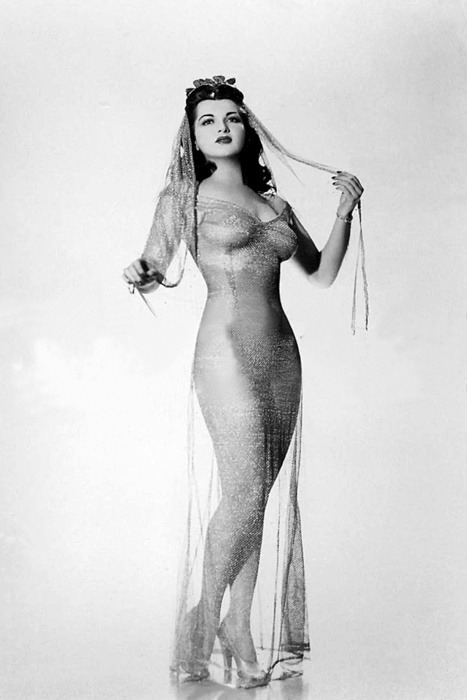 Burlesque artiste Sherry Britton