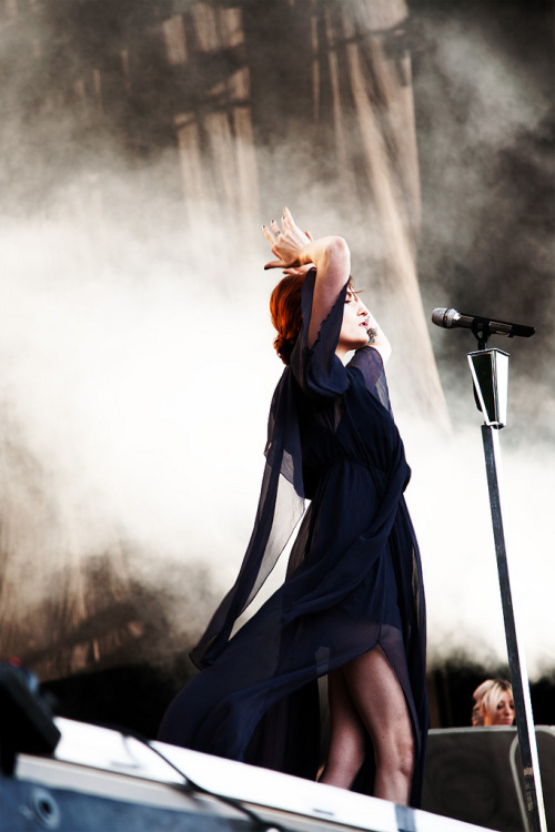 Florence + The Machine live at Øya Festival 2012