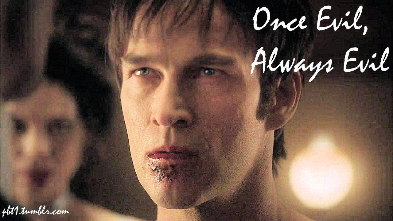 "Watching 3x10. Arlene's infamous words, ""Once Evil, Always Evil."" These words were said to Jessica, Bill's Progeny. Brings me back to Eddie from Season 1. ""We are what we were when we were made."""