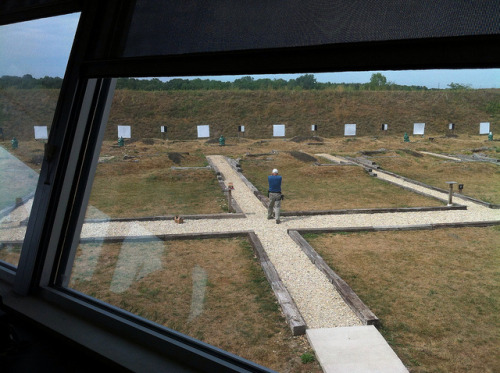 Combat Pistol Range, viewed from the control room. Tactical Life