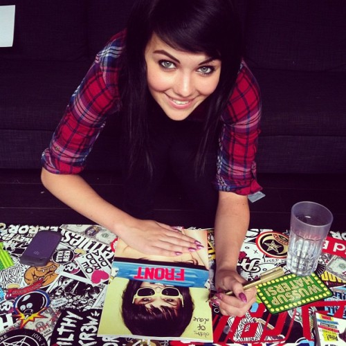 Mel says go and buy her limited edition signed cover over at shop.frontarmy.com. GO ON, DO IT.You know we're on Instagram right? Follow @frontarmy