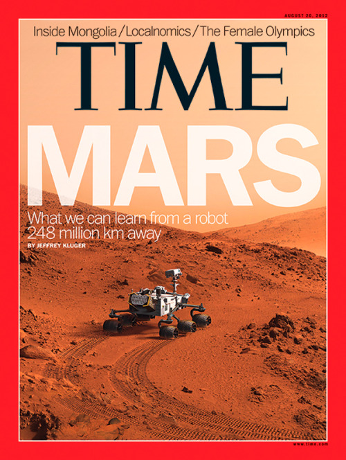 "The latest issue of TIME, featuring our cover story, ""Live From Mars,"" will hit newsstands Friday.  (Photo-Illustration by Joe Zeff Design for TIME. Mars landscapes: NASA)"