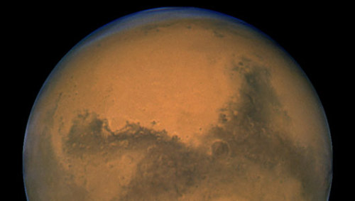 mothernaturenetwork:  Why is Mars red?Mars's red color comes from oxidized iron on the planet's surface, but scientists aren't sure how the oxidation process happened on the Red Planet.  More on Mars…