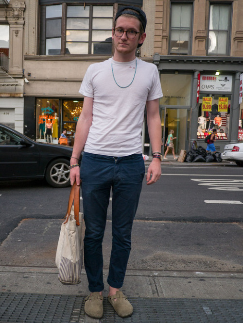 Noah, Broadway, Tribcea, NYC. Corter Leather Tote Read more here…