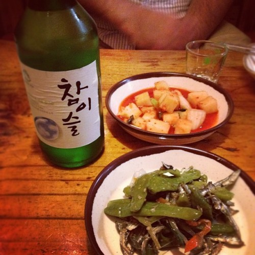 when in seoul… #seoul #soju #iphonesia  (Taken with Instagram)
