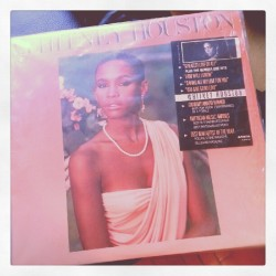 Happy Birthday Whitney! #oldschool #vinyl (Taken with Instagram)