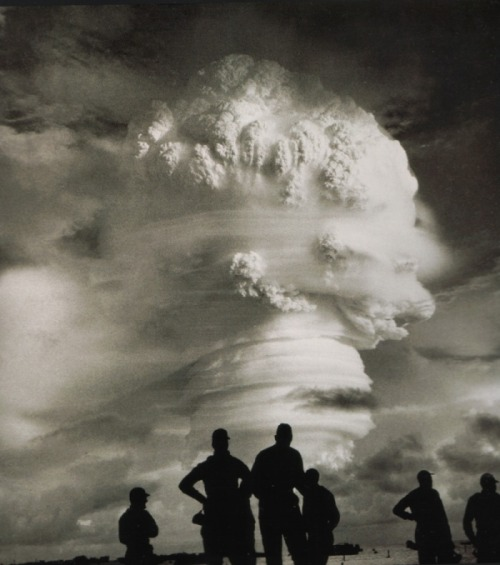 The testing of 'Oak' on the Eewetak Atoll. June 29, 1958.Michael Light