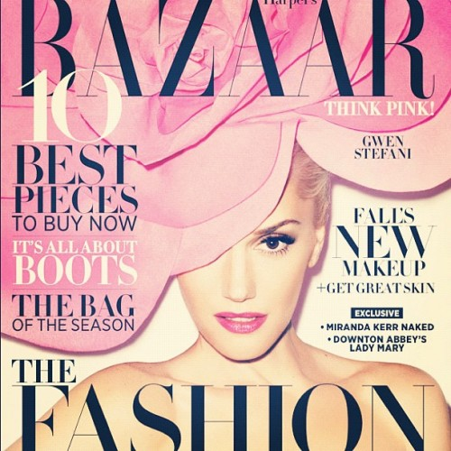 In case you missed it: Gwen Stefani on the cover of Harper Bazaar's September issue. She's so coo-coo-ool. [Shot by Terry Richardson] www.tresdope.com #fashion #gwenstefani #harpersbazaar #nodoubt #orangecounty #loveangelmusicbaby #terryrichardson #september #magazine (Taken with Instagram)
