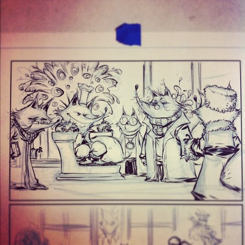 Oz Inking: King Fox (Taken with Instagram)