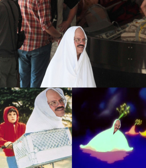 Is it me or does Tobias Funke's outfit look familiar?