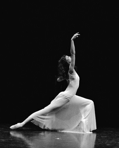 black and white ballet