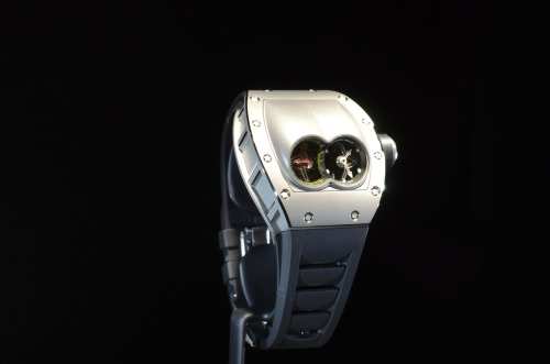 The $580,000 tourbillon built for Polo. From, who else, but Richard Mille?