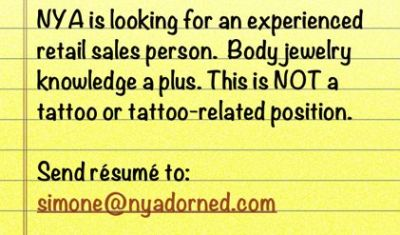 Contact: simone@nyadorned.com