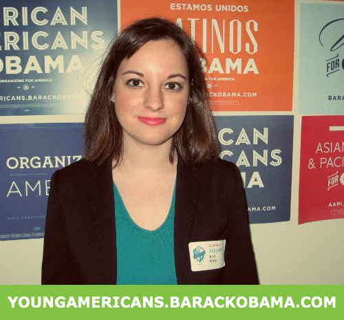 Young Americans For Obama We need to grow faster and fight harder to protect the progress we've made and continue to work for more. Young activists will lead the grassroots effort across the country to build this campaign for 2012 from the ground up.