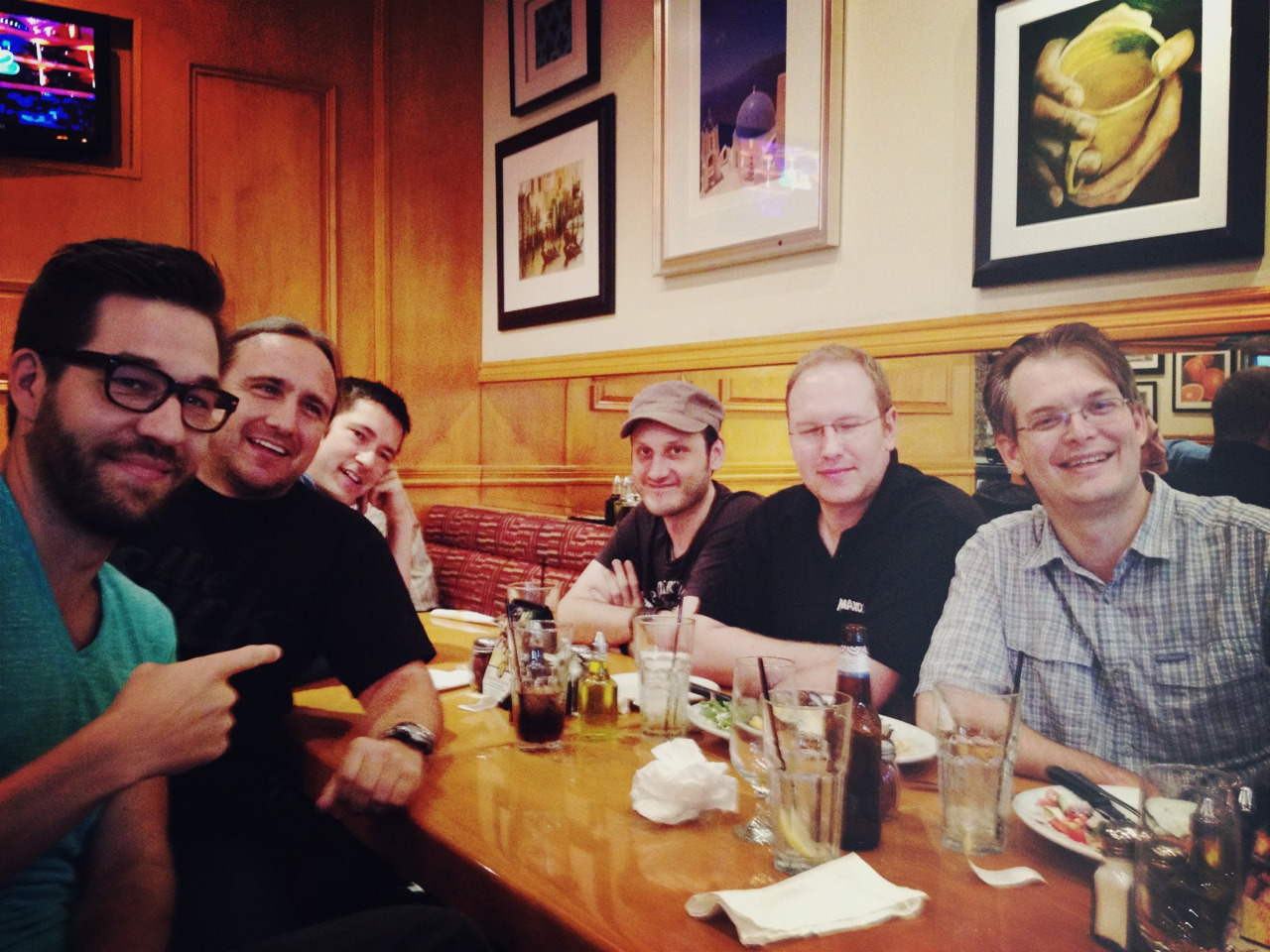 I got to eat with some of the dev team behind Cinema 4D. Thanks for building powerful and fun software.