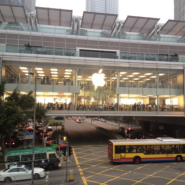 The Apple Store in Hong Kong is impressive (Taken with Instagram)