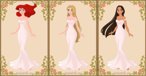 30 Day Disney Princess Challenge Day 6: Prettiest Princess (Sorry this is the only pic I couldn't choose and this is the only pic with all 3 of em. They look nice though.)