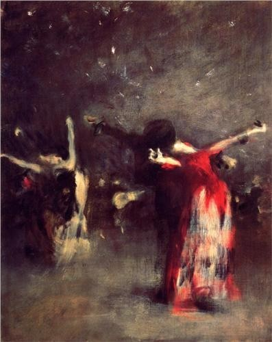 Study for The Spanish Dance - John Singer Sargent