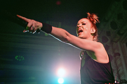 Garbage rocked Metro Tuesday night. You've never seen Shirley Manson from this angle. Take a look at our pics.